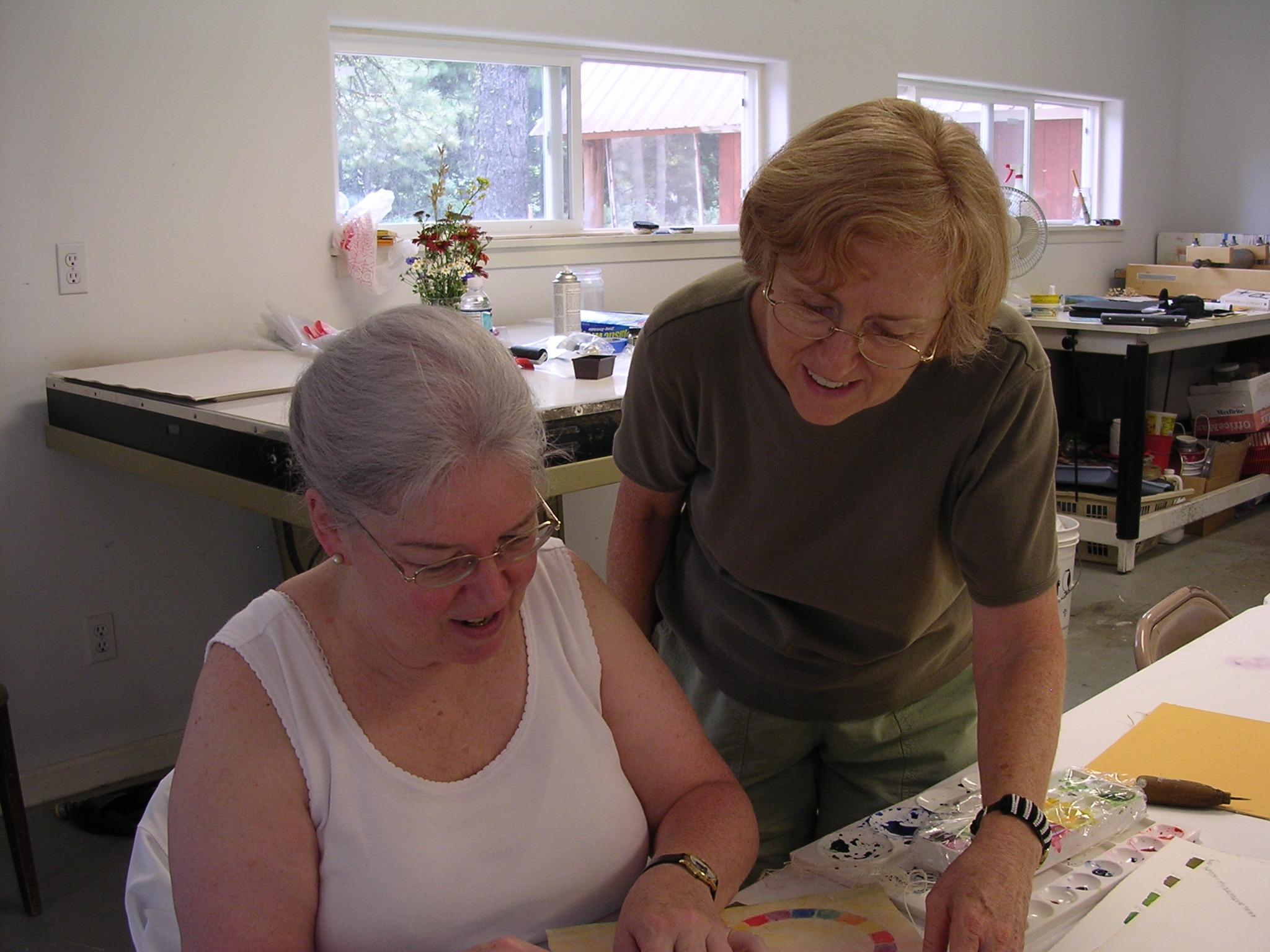 Grunewald Guild Watercolor Explorations Workshop