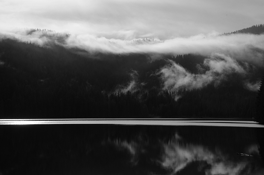 Lost Lake B&W 7357