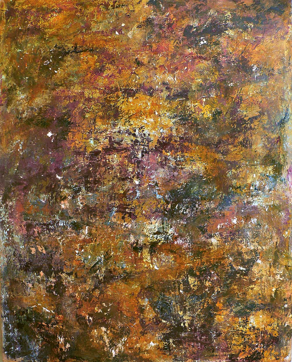 lullaby of birdland - 184 x 146 cm - acrylic and plaster on canvas - 2007