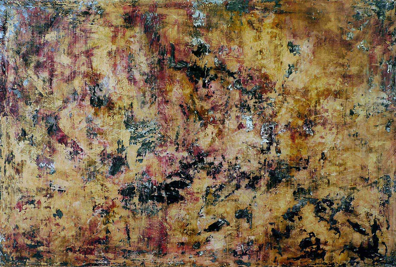 you´ve changed - 100 x 150 cm - acryllic on canvas - 2008