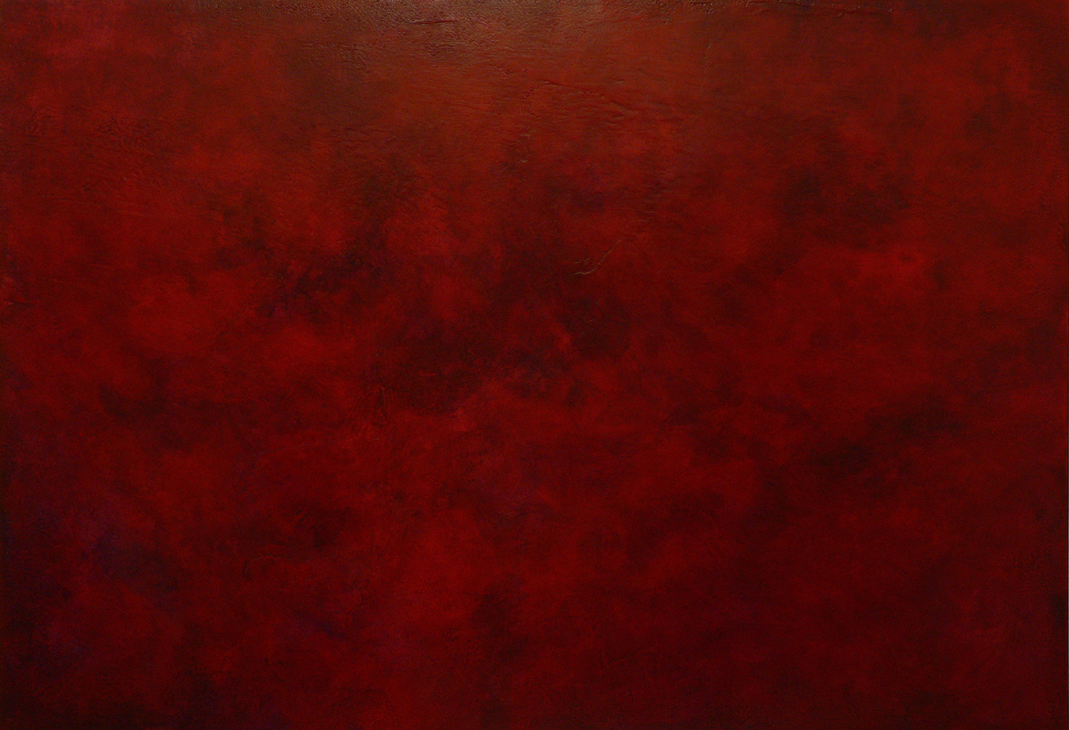 as time goes by - 90 x 130 cm - acrylic and plaster on canvas - 2005