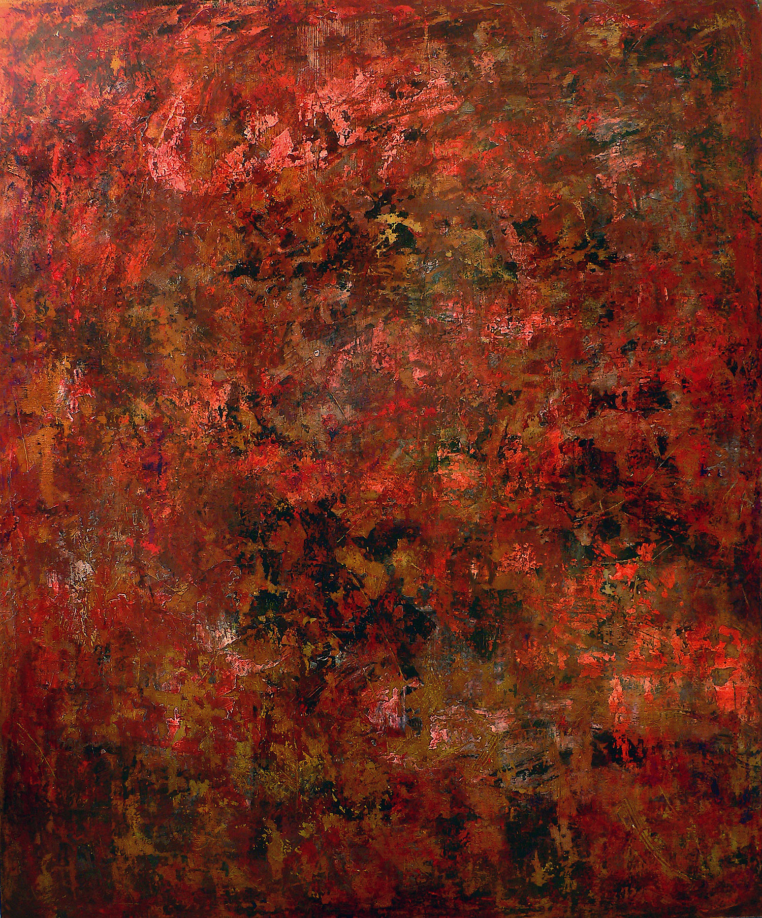 autumn in new york - 120 x 100 cm - acrylic on canvas - 2008
