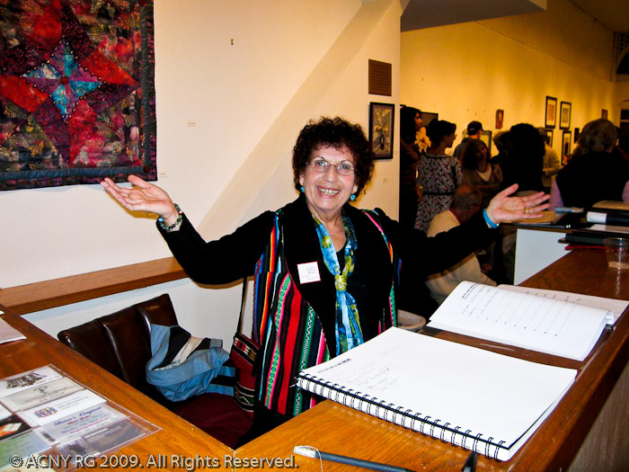 Shula Mustacchi at 2009 reception