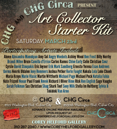 art starter collector kit march 23, 2013