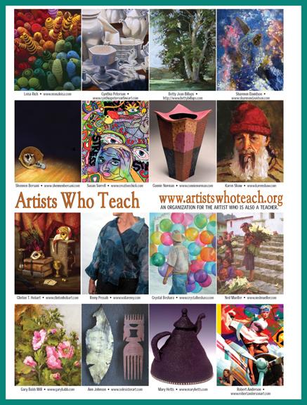 artists who teach ad