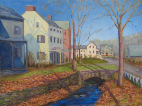 Paintings by sharon shaw bucks county pennsylvania for Craft shows in bucks county pa
