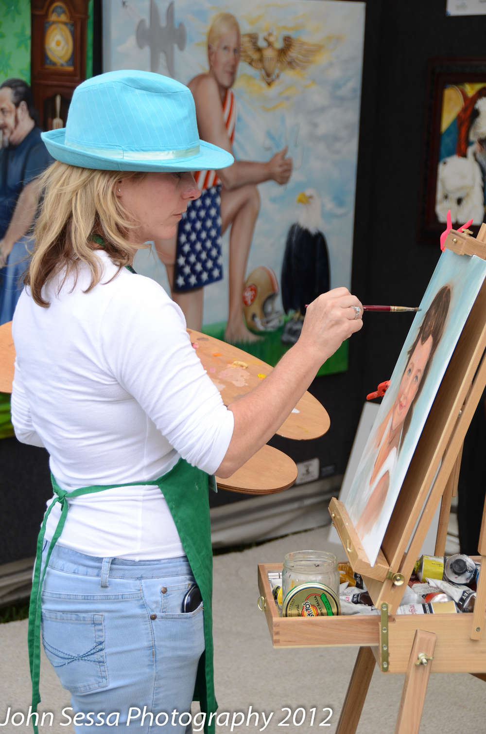 painting at Artigras