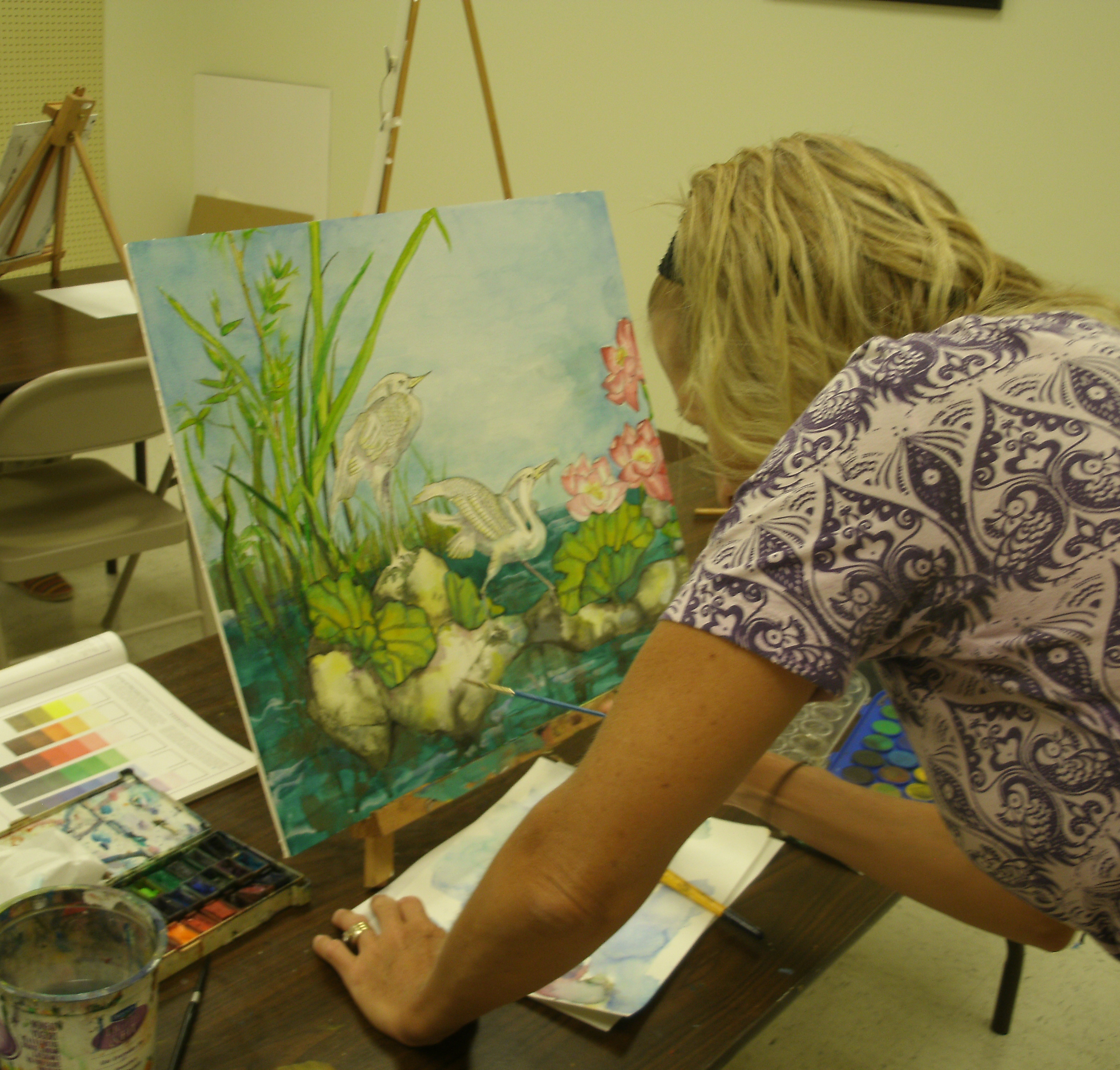 watercolor art classes austin texas