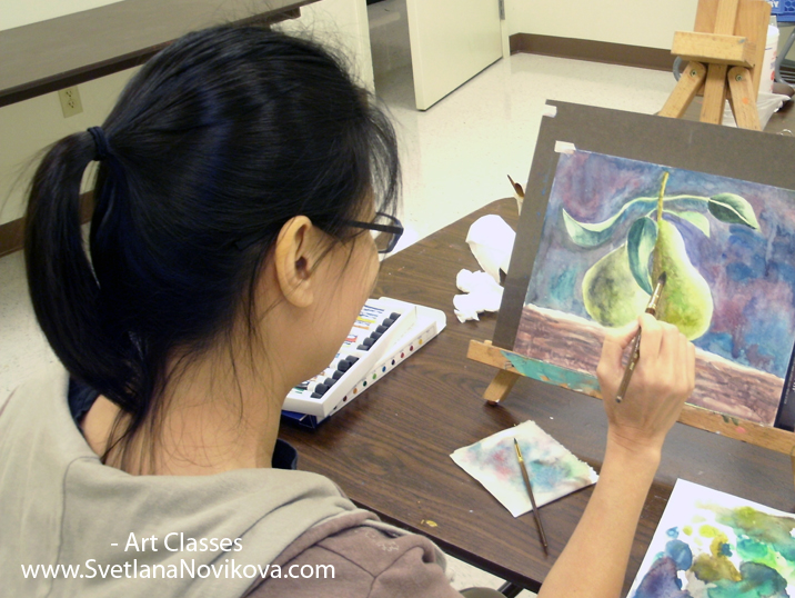 watercolor acrylic painting classes texas austin