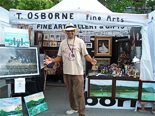 T Osborne at Riverbend festival