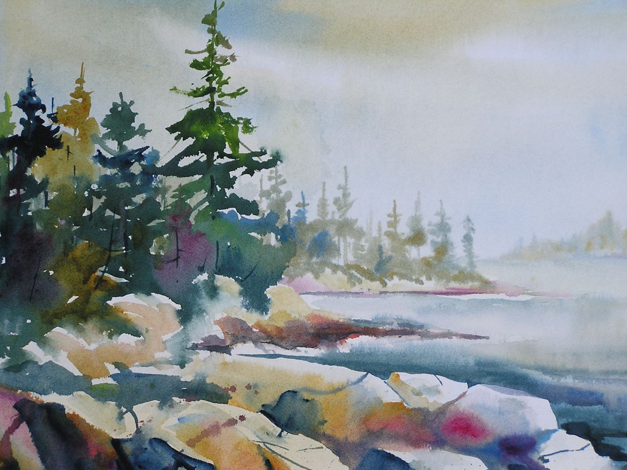 Tom Ryan Watercolor