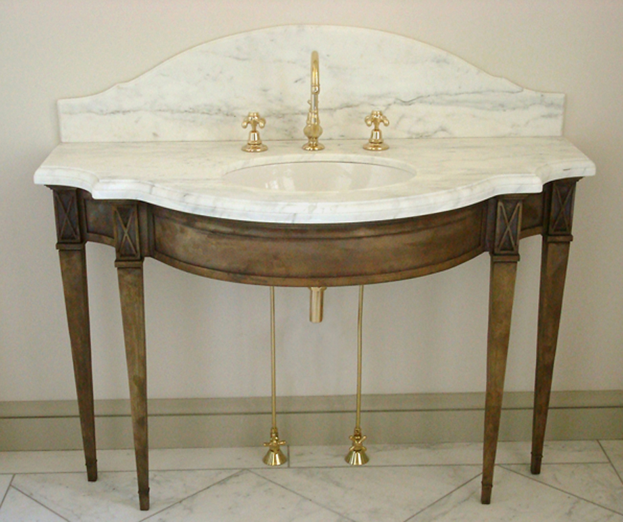 Bronze Vanity Finished