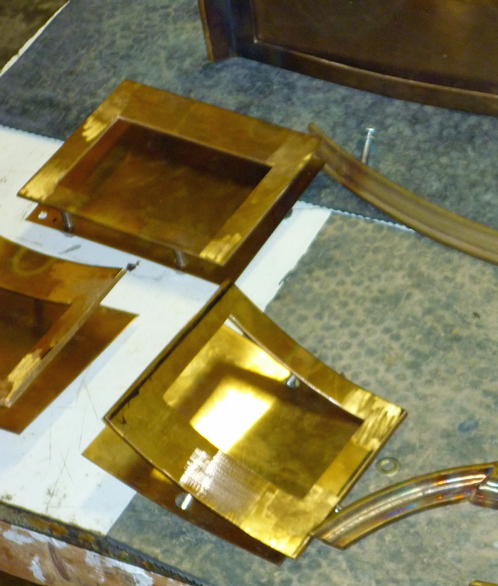 Cut Bronze Sections
