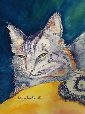 Favorite Cat by Francine E.
