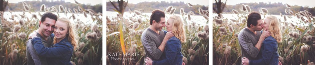 Engagement-photo-by-pond