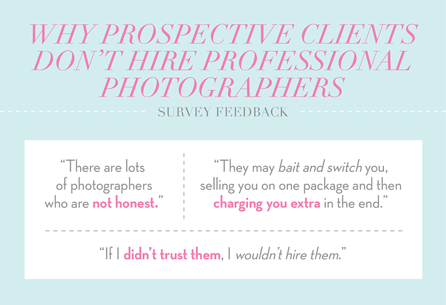 Why Prospective Clients Don't Hire Professional Photographers