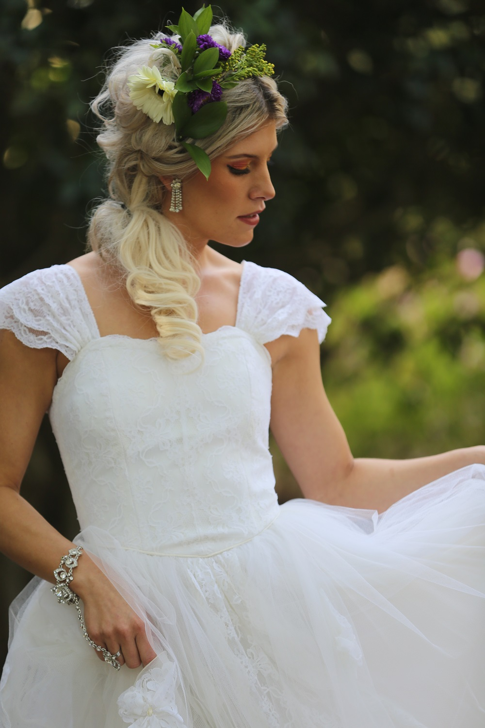 Bridal portrait by Bryce Lafoon Photography