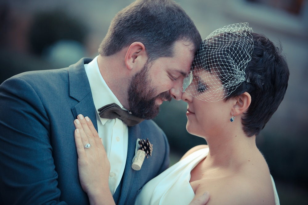 Wedding couple photo by Bryce Lafoon Photography
