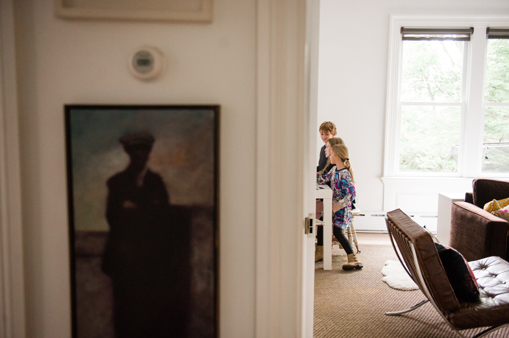 In-home photography session by Jennifer Tonetti Spellman