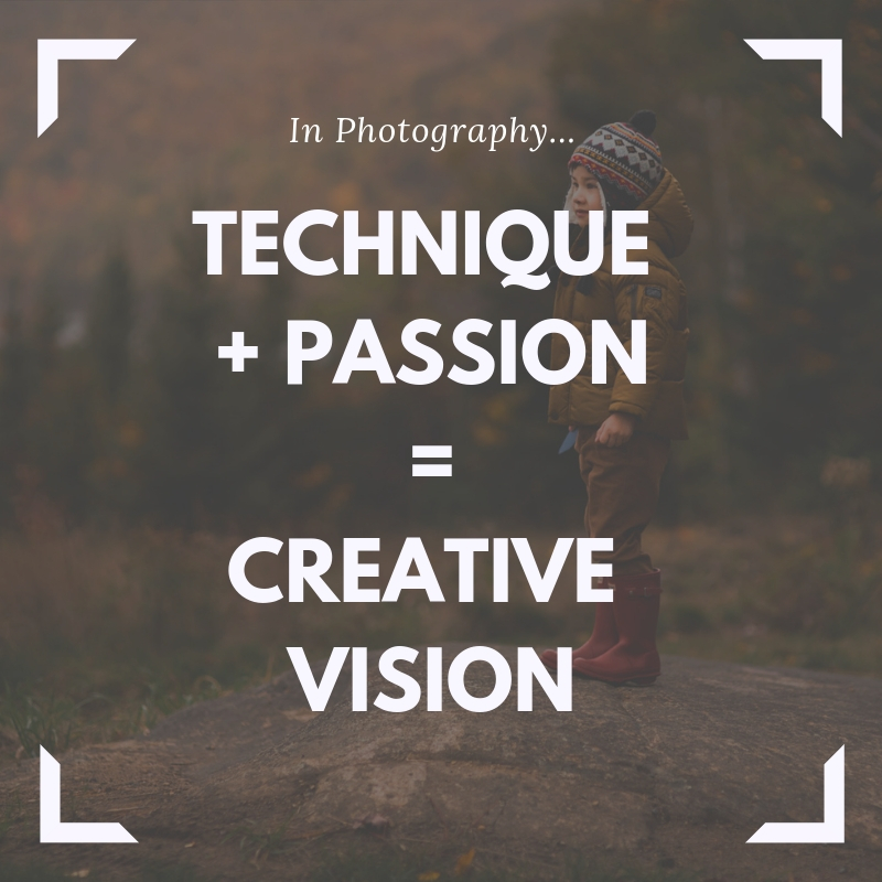 Technique+Passion=CreativeVision