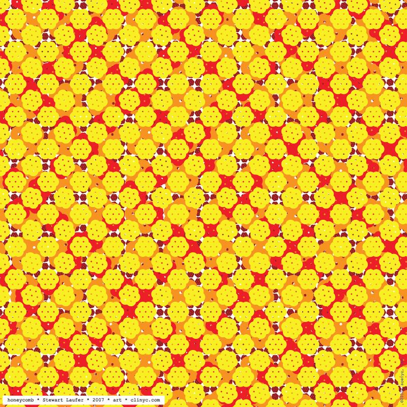 illustration -+- honeycomb -+- frecial / Stewart Laufer -+- 2007 -+- art -+- clinyc