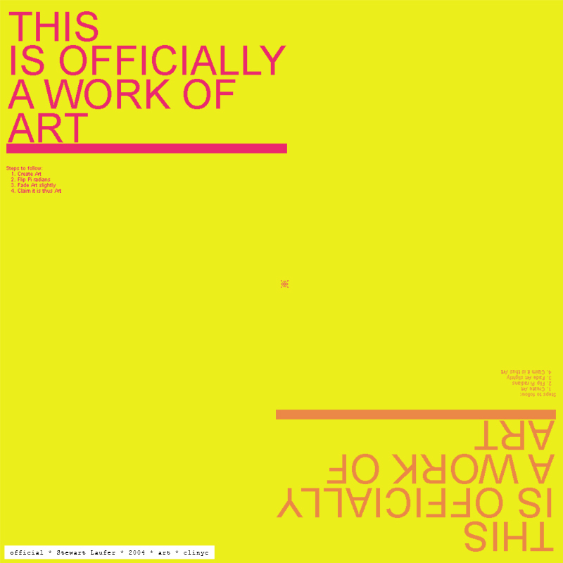 illustration -+- official -+- frecial / Stewart Laufer -+- 2004 -+- art -+- clinyc