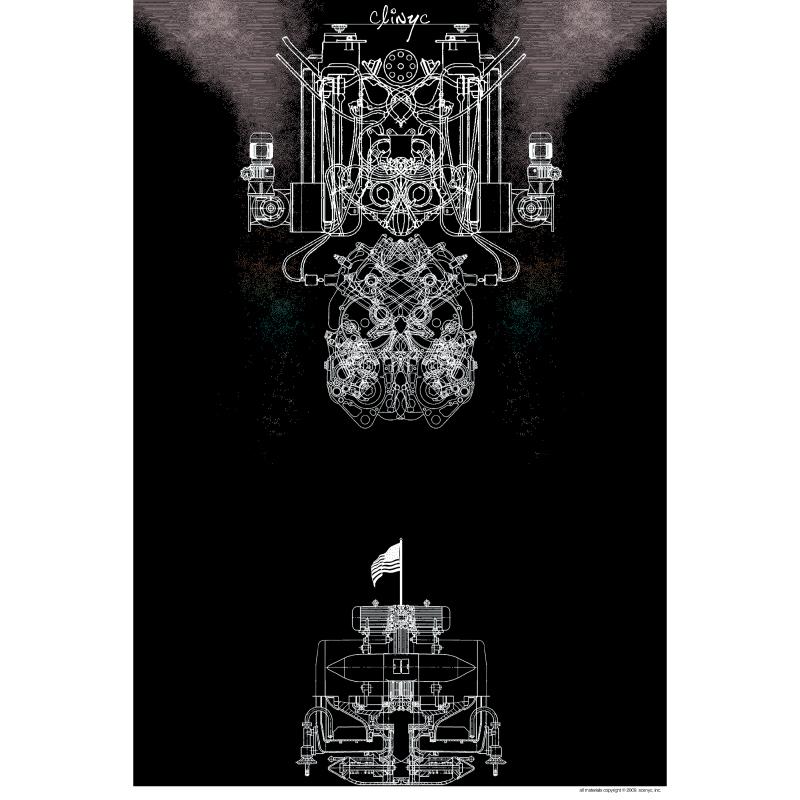 illustration -+- face line drawing -+- Jonathan McIntosh -+- 2007 -+- art -+- clinyc