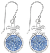 Image of Kameleon Fleur De Lis Earrings View 1
