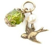 Image of Lenny and Eva Bird Charm View 1