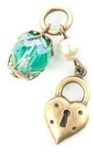 Image of Lenny and Eva Heart Charm View 1