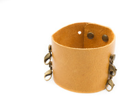 Image of Lenny and Eva Wide Cuff- Sunflower View 1