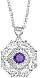 Image of Kameleon Fairy Tale Pendant View 1