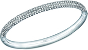 Image of Swarovski Stone Mini Crystal Bangle, M View 1