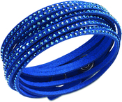 Image of Swarovski Slake Dark Blue Bracelet View 1