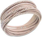 Image of Swarovski Slake Rose Bracelet View 1