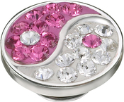 Image of Kameleon Pink Yin Yang JewelPop View 1