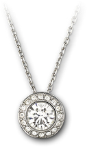 Image of Swarovski Angelic Pendant View 1