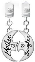 Image of A Silver Breeze Mother Daughter Circle of Love View 1