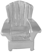 Image of A Silver Breeze Adirondack Chair Bead View 2