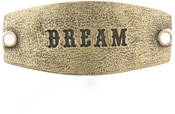 Image of Lenny and Eva Dream- Small Sentiment Brass View 1