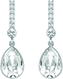 Image of Swarovski Attention Pierced Earrings View 1