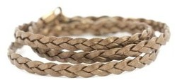 Image of Lenny and Eva Bronze Braided Wrap View 1