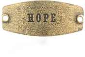 Image of Lenny and Eva Hope- Small Sentiment Brass View 1