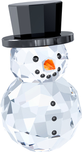 Image of Swarovski Snowman with Hat View 1