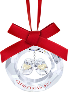 Image of Swarovski Baby's First Christmas Ornament, Annual Edition 2015 View 1