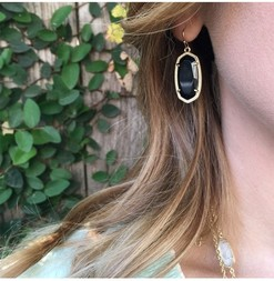 Kendra scott dani gold black