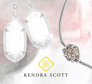 Image of Kendra Scott Earrings and Kendra Scott necklace