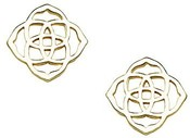 DIRA STUD EARRINGS IN GOLD