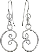 Image of Saratoga Jewels Yoga (Peace) - Earrings View 1