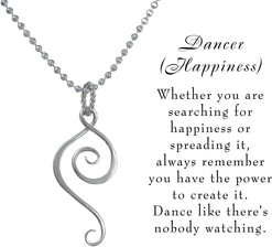 Dancer necklace w meaning